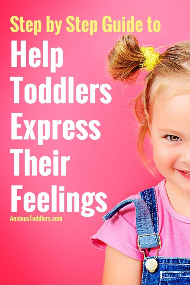 Toddlers don't naturally have the language to express how they feel. As parents, we must teach them. Here are six key steps to help your toddler express feelings.