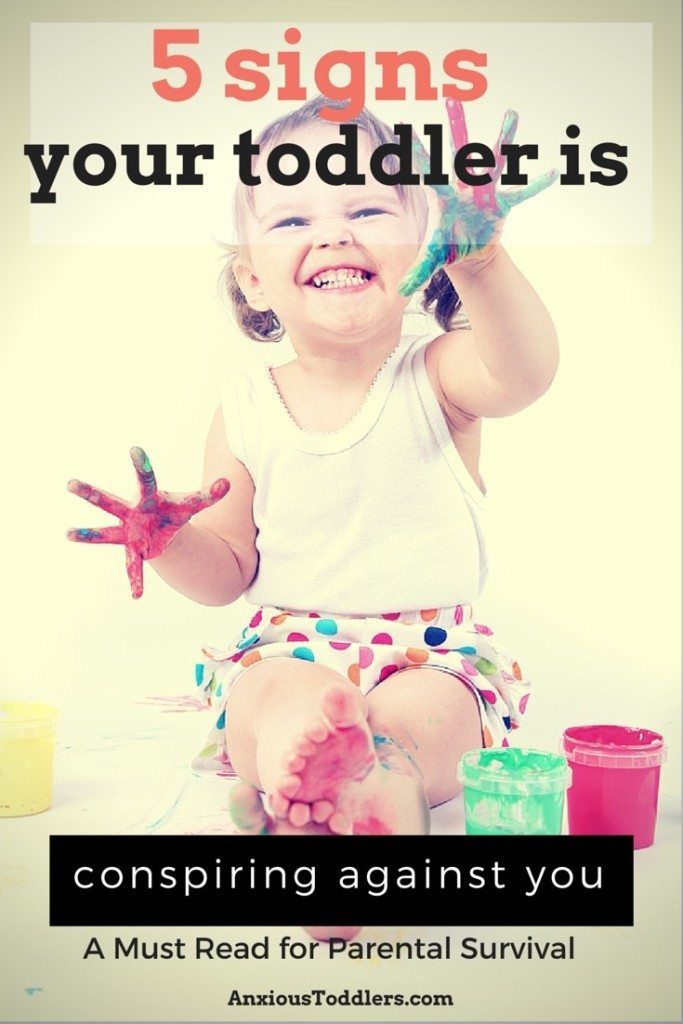 Are you parenting a toddler? Here are 5 tips that prove our toddlers are conspiring against us!
