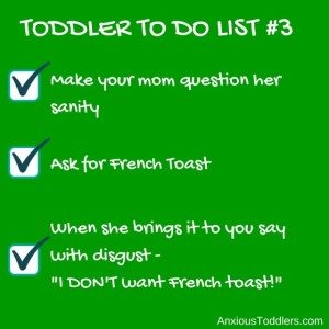 Toddler to do list 3 #toddlertodolist from AnxiousToddler.scom