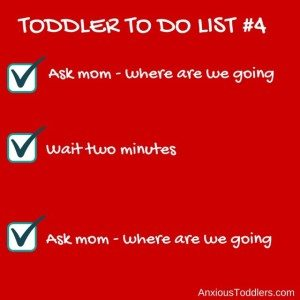 Toddler to do list #toddlertodolist found on AnxiousToddlers.com