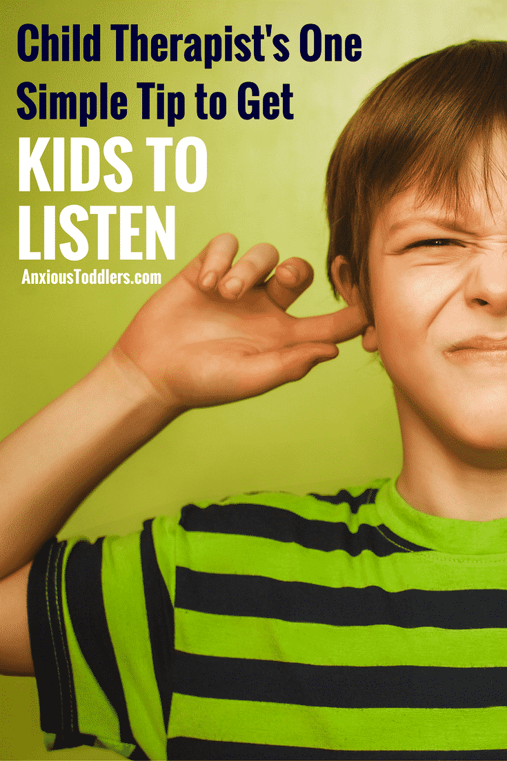 Do you feel your kids might be deaf because they ignore everything you say? Here is the simplest tip I offer parents in my therapy practice.
