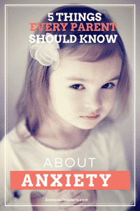 A must-read for any parent who is dealing with child anxiety!