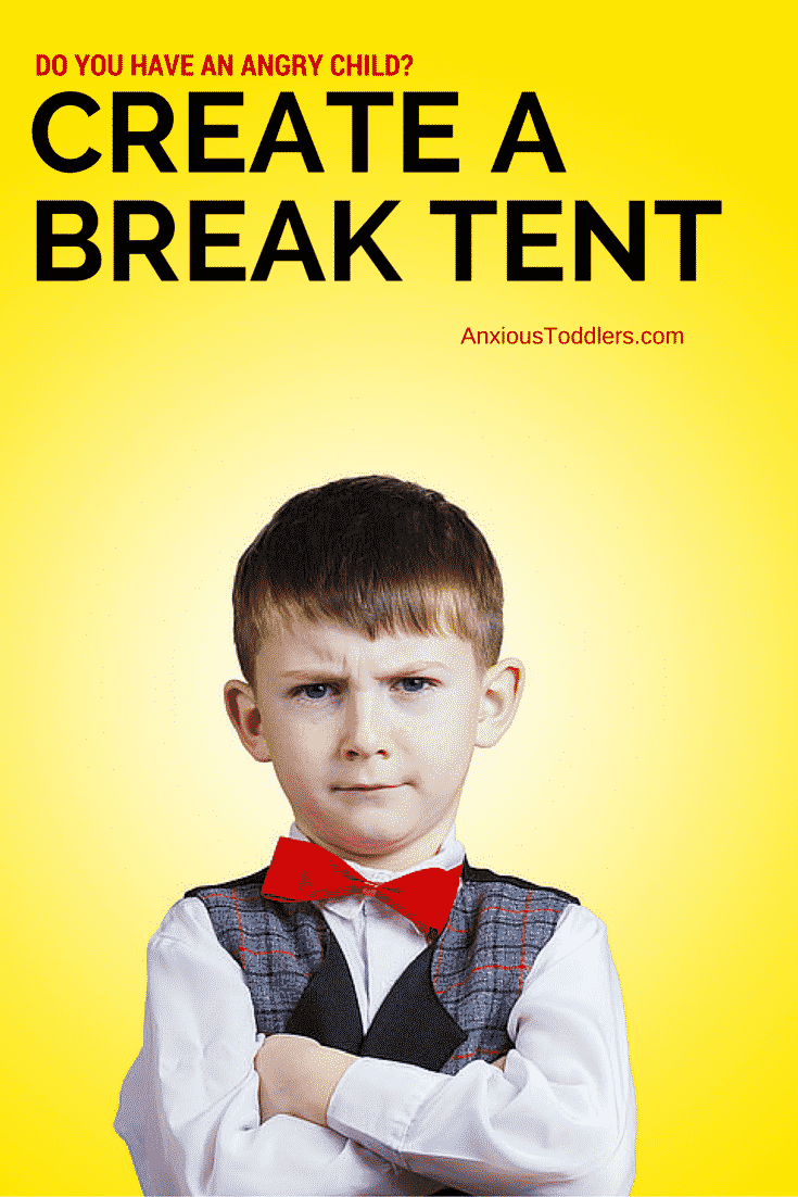 Tired of daily meltdowns? Try creating a break tent. It can help kids to learn how to self-regulate.