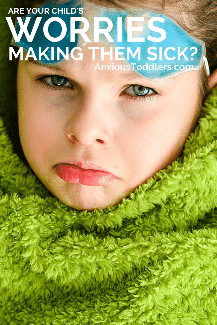 Did you know that worries can make your child physically ill? Here is a list of how worries affect the body and what ailments they can cause.