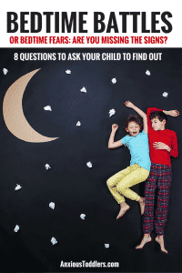 Can you be sure that your child's bedtime battles aren't because they are afraid? Ask these 8 questions from a child therapist to determine if your child's bedtime fights are worried-based.