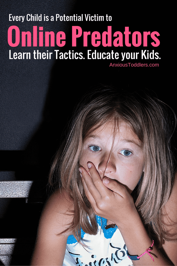 Every Child is a Potential Victim to Online Predators. Learn Their Tactics. Educate Your Kids.
