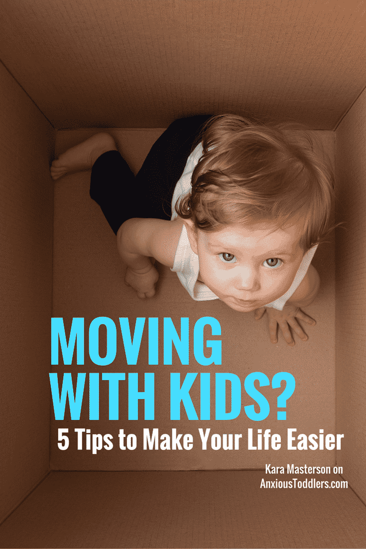 Moving is a major hassle. Moving with kids can be a nightmare! Start off on the right foot with these 5 tips!