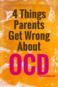 You might think a child has OCD if they are afraid of germs and are a neat freak - but that is completely inaccurate!