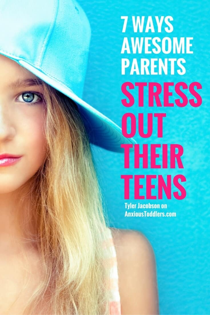 Being a teen can be stressful. Making friends, getting good grades and peer pressure can be overwhelming. Sometimes as parents we can inadvertently make teen stress worse.