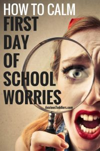 You are ready for school to start. Your kid is ready to puke. First day of school worries are common. Ease your child's nerves with these helpful tips.