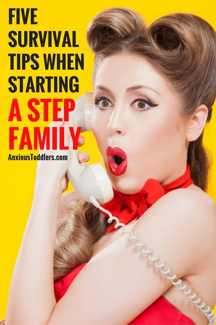 You fell in love. You decided to get married. You started a stepfamily. Here are five survival tips to get started!