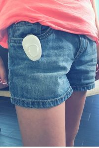 Wearsafe Tag makes it easy to have peace of mind when your kids aren't with you. #Wearsafe #SaferSmarter #ad