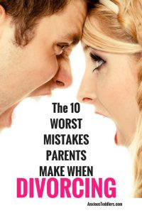 Divorce doesn't turn kids into a dysfunctional mess - toxic parents do. Make sure you aren't making one of the 10 worst mistakes when parenting through divorce.