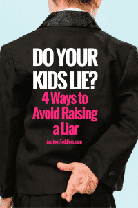 Kids lie. That's a fact. But, how you parent can make the difference between a stage and a life long habit.
