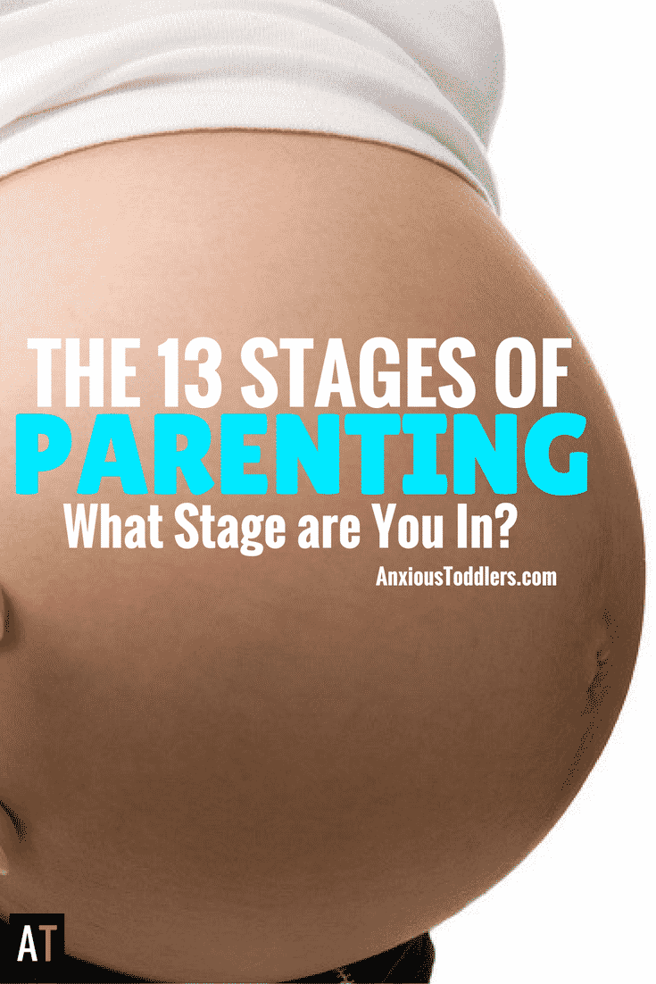 Parenting is a roller coaster of emotions. You will pull your hair out, cry and love so hard you'll forget about the first two. Buckle up and prepare for the 13 stages of parenting.