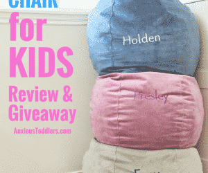 The Ultimate Children's Bean Bag Chair for Kids: Brentwood Review and Giveaway