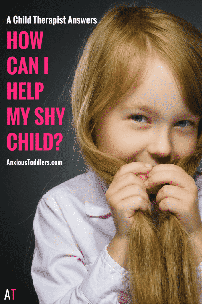 """A Child Therapist answers, """"How can I help my shy child?"""""""