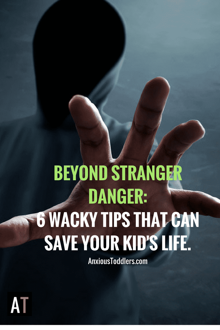 Every parent should teach kids these 6 wacky tips. It might just save their life.