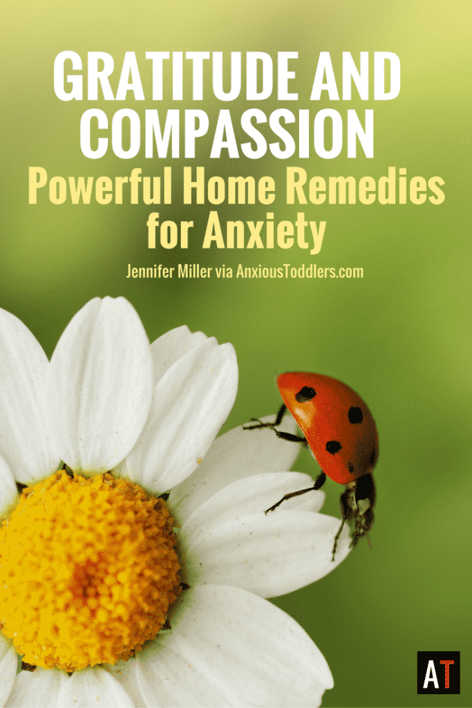 Research has shown that gratitude cannot co-exist with fear. It turns out that gratitude and compassion can be powerful natural remedies to anxiety.