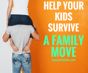 How to Help Kids Survive a Family Move