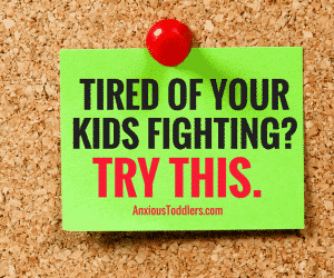 Ask the Child Therapist Episode 24: Tired of Your Kids Fighting? Try This.