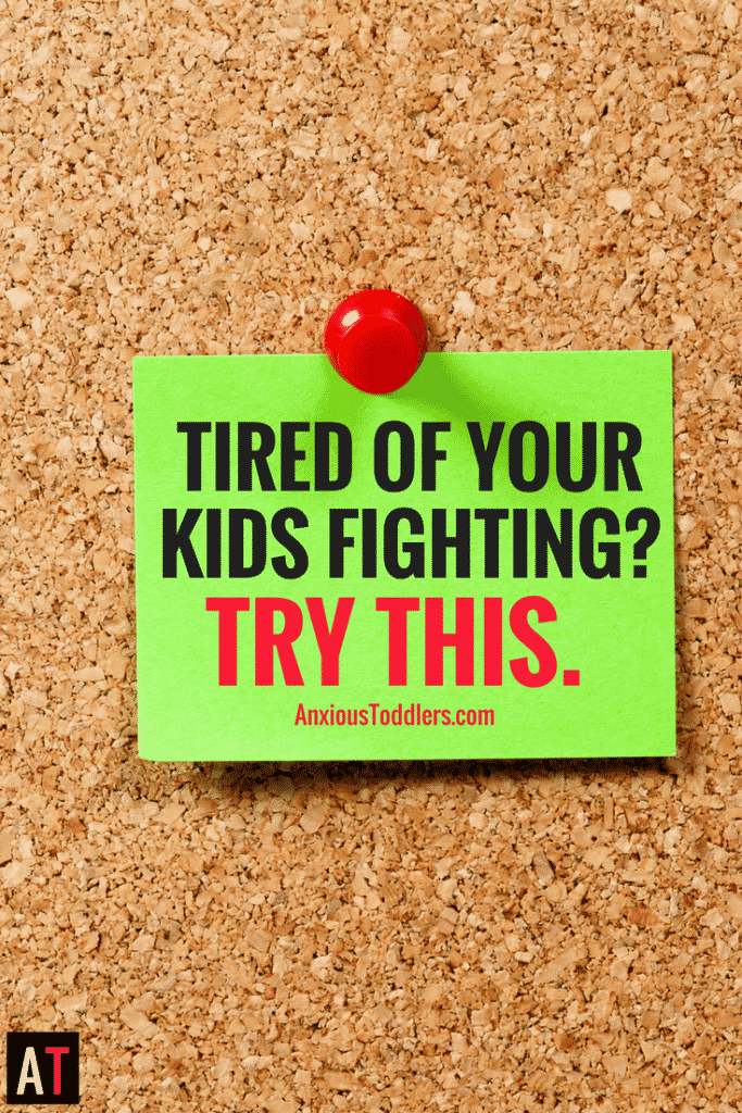 Are you tired of your kids fighting? When your kids fight they can drain your energy fast! Learn a wacky, but effective approach to stop it!