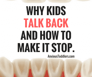 Ask the Child Therapist Episode 33: Why Kids Talk Back and How to Make it Stop!