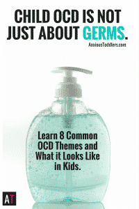 Child OCD goes way beyond germs and orderliness. Learn the 8 most common OCD themes and what it looks like in kids.