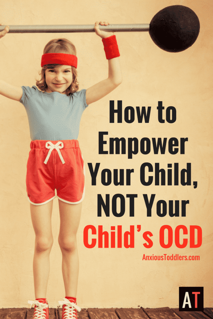 The first step in helping a child with OCD is learning how to empower your child, but not your child's OCD. Let me show you how.
