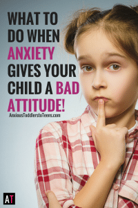 Sometimes children with anxiety and OCD can be so bogged down with stress they develop a bad attitude. Learn how to help your child find the sparkle in life again.