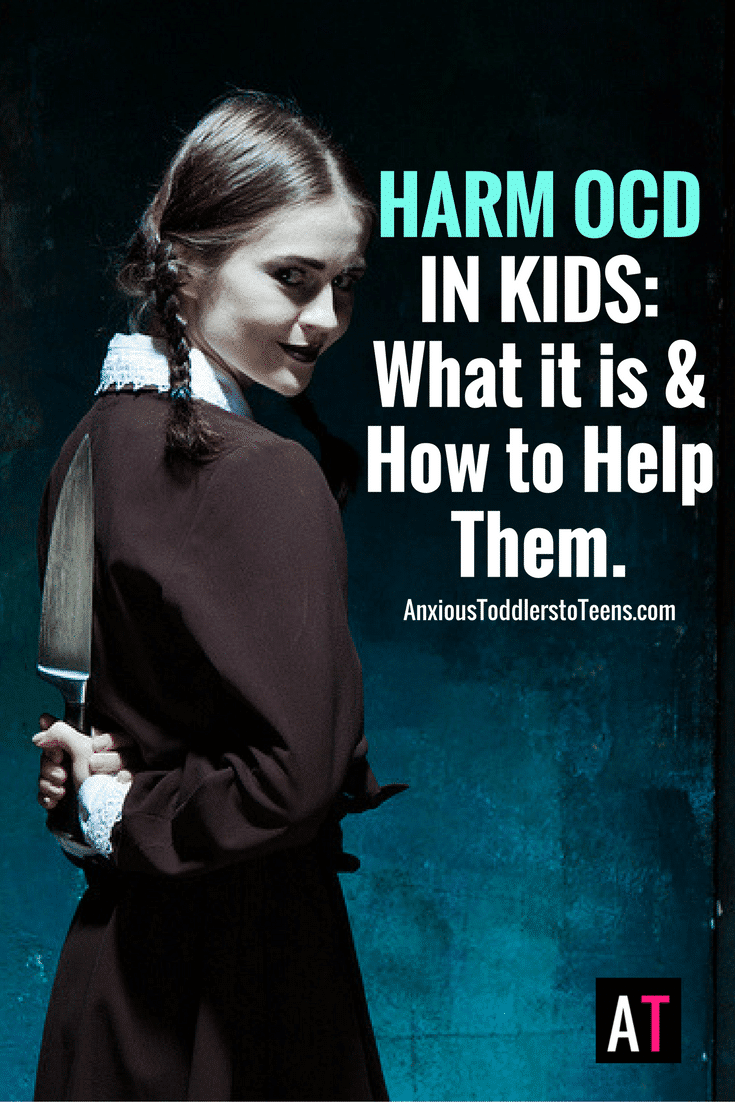 Ask the Child Therapist Episode 56: Harm OCD in Kids: What it is and How to Help
