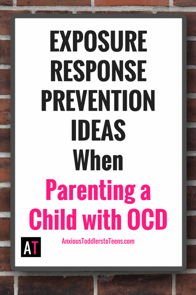 Coming up with appropriate exposures for Exposure and Response Prevention (ERP) therapy can be hard! It requires some creativity and understanding of your child's OCD issues. Need a jump start? I've got you covered.