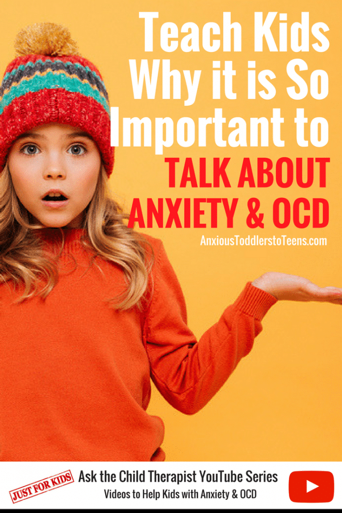 Anxiety and OCD love to hide. The first line of defense is to teach your kids how to talk about anxiety and OCD. Have your child watch this YouTube video to learn simple ways to communicate their struggles.