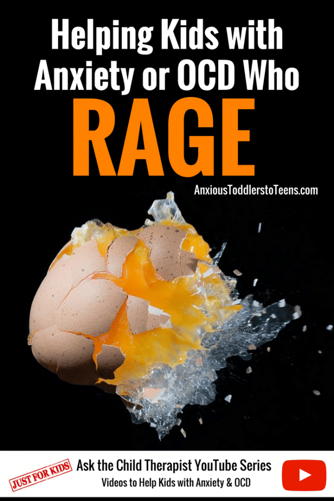 Anxiety or OCD can cause an enormous amount of stress that can turn into rage. In this week's youtube video I teach kids how to handle this rage.