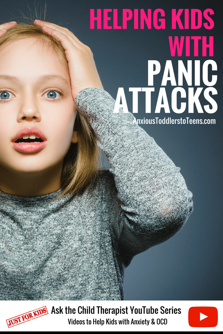 Ask the Child Therapist Episode 72 Kid Edition: Do You Have a Child with Panic Attacks? Let Me Help Them Survive Them.