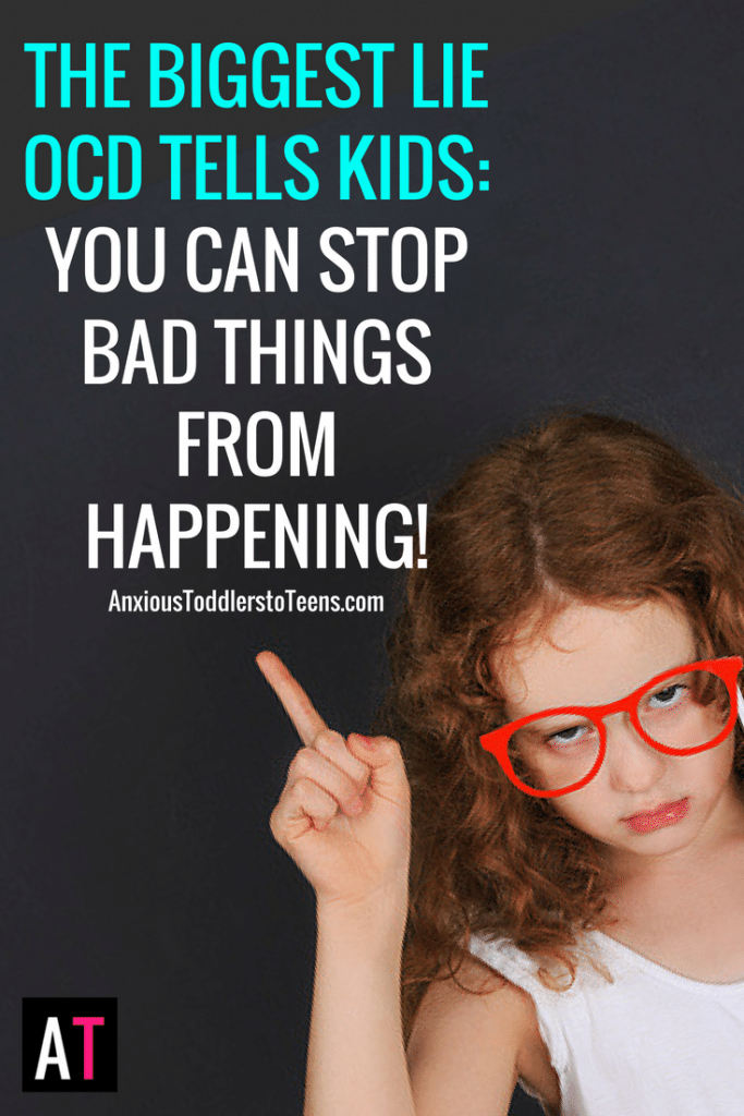 Child OCD bullies our kids. Lies to them and tells them they have the power to stop bad things from happening. It holds them prisoner and hostage to OCD rituals. It is time to teach them how to fight back.
