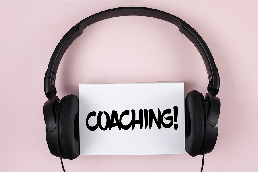Handwriting Text Coaching Motivational Call. Concept Meaning Tou